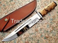 D2 Tool Steel Hand Made Bowie Knife