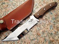 D2 Tool Steel Handmade Tracker Knife
