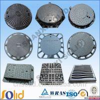 Supplying ductile iron manhole cover EN124 A,B,C,D
