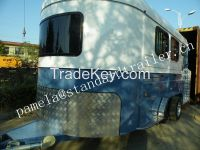 3 Horse  Angle Load Float Standard Camper Float