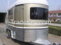 2 Horse Float Angle Load Standard Camper Float