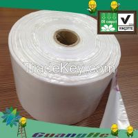 100% biodegradable PLA+PBAT plastic shopping bags, PLA biodegradable  plastic bags