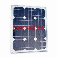 25w Monocrystalline Photovoltaic Solar Module