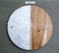 Marble Chopping & Pizza Board