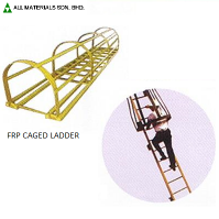 FRP Caged ladder