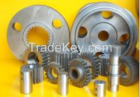 Excavator gear travel reduction swing reduction