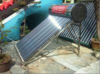 vaccuum tube solar water heater