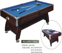 Strong structure MDF billiard table with competitive price