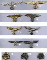 German metal insignia