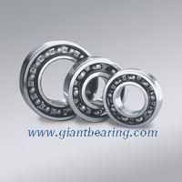 Single row deep groove ball bearing