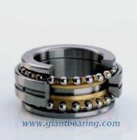 Two-way thrust angylar contact ball bearing