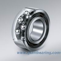 Double row angular contact ball bearing