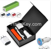 Car Charger travel kits (5 in 1)