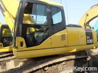 komatsu pc220-7 excavator
