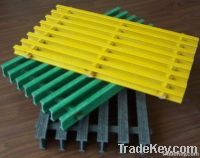 Pultruded fiberglass gratings