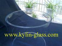 large diameter glass tube