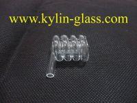 spiral glass tube