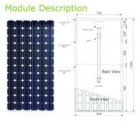 Monocrystalline Solar Panels 180W