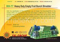 KH-77 Heavy Duty Empty Fruit Bunch Shredder