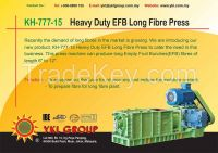KH-777-15 Heavy Duty EFB Long Fibre Press