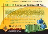 KH-777-12 Heavy Duty And High Capacity EFB Press
