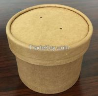 Takeaway Deli disposable paper food container/lunch box