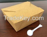 Take-out food container lunch deli box/2#,