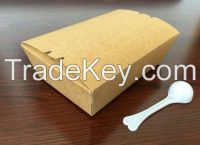Brown kraft paper Take-out food container lunch deli box