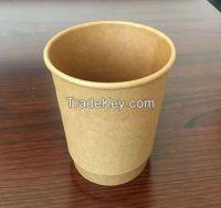 Takeaway kraft Paper Coffee Cup