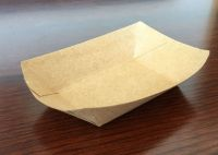 Disposable cateteria tray/lunch box/ food tray paper cardboard concession
