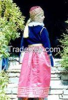 Greek traditional costume Queen Amalia