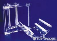 Clear quartz wafer carrier