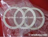 white zirconia ceramic ring