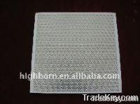 honeycomb ceramic plate
