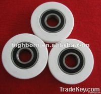 alumina textile guide pulley