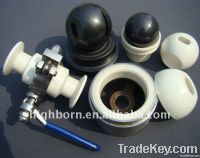 silicon carbide ceramic ball valve