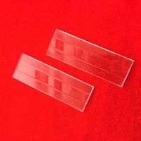 Deep processing clear quartz glass plate