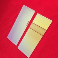 UV plated quartz glass sheet with high purity