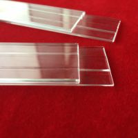 Polishing clear quartz glass plate in various size