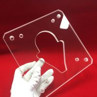 Customized big size quartz glass plate