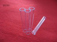Clear UV silica quartz glass tube