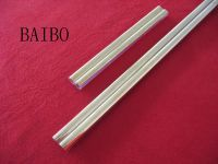 Gold coated quartz glass tube with high quality