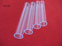 Filtered UV quartz glass tube factory price