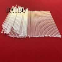 Ultra-fine clear quartz glass tube