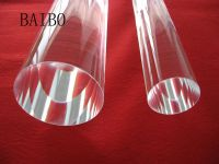 Big size clear quartz glass rod