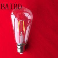 4W 6W 8W LED filament light, E27 B22 LED filament light