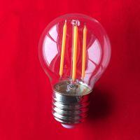 Low price G45 LED filament light, E27 B22 LED filament light