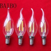 C37T E27 LED light bulb, 2w 4w 6w led light bulb
