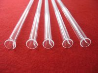 transparent horn mouth transparent quartz joint tubing