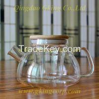 Unique Design Glass teapot